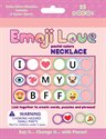 Bild av Pocos Emoji Love - Pastel colors Necklace